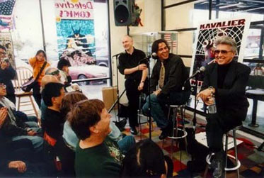 Jim Steranko meets Michael Chabon